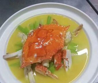 姜葱焗螃蟹